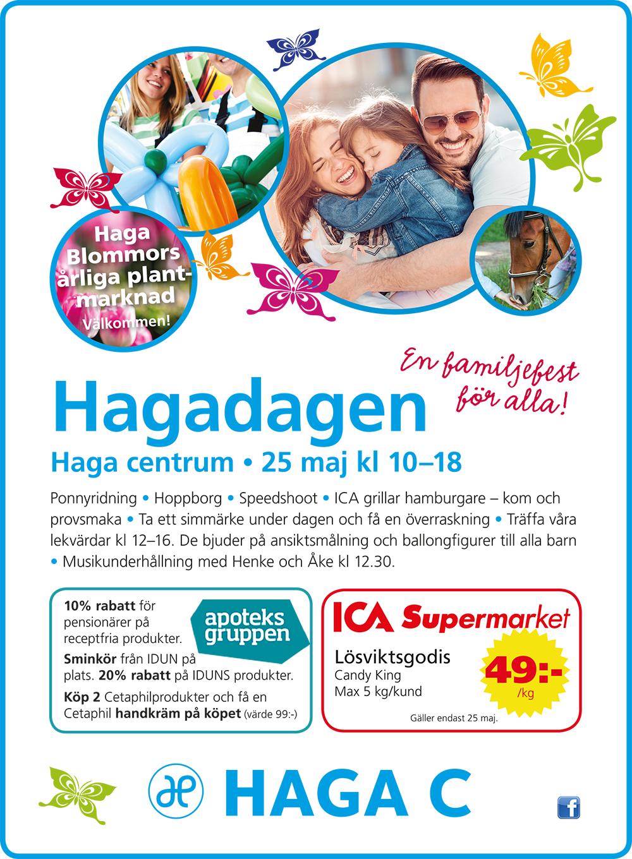 Affisch för Hagadagen