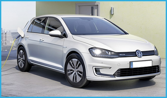 Vit Volkswagen golf