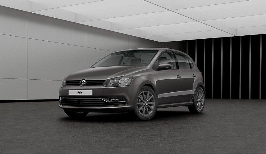 Grå Volkswagen Polo