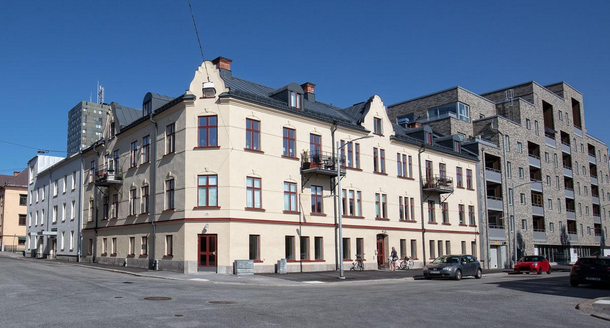 Två hus på Kungsgatan