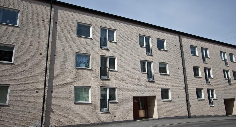 Fasaden på Änggatan 14-16