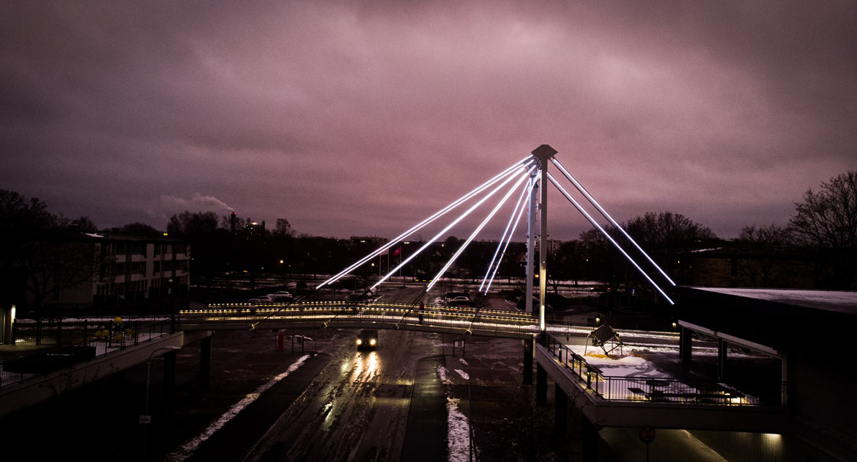 Bron i Oxhagens centrum