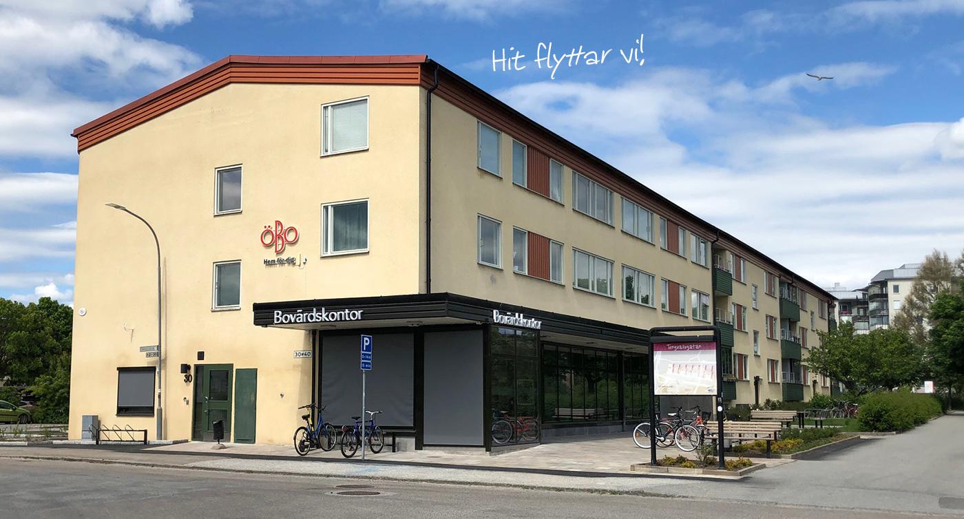 Bovärdskontoret, ett gult hus på Tengvallsgatan 30 i Örebro.