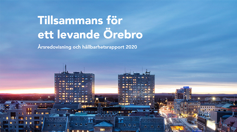 Utsikt över Örebro