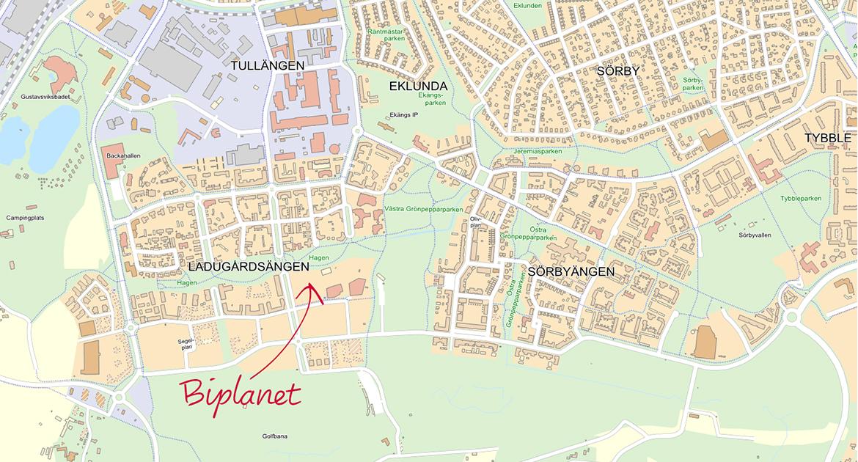Karta Biplanet